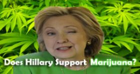 Clinton Gave Thumbs Down to Legal Marijuana, Leak Shows