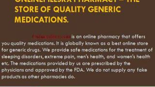 Onlinepillsrx Pharmacy
